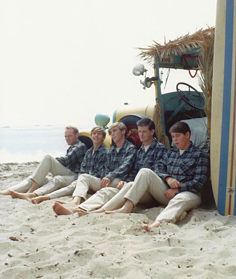 They Did The Famous Photo Shoot At Paradise Cove Covers Of Surfin Safari 1962 And Surfer Girl 1963 Used Photos From This Session