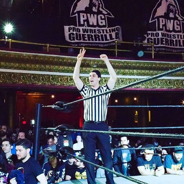 This weekend is the last PWG All Star Weekend to be held in Reseda! Who&#39;s going?? #PWG #AllStarWeekend #AllStar #Reseda #Referee #ProWrestling  https:// ift.tt/2Hv5cK6  &nbsp;  <br>http://pic.twitter.com/GafQMbt2RB