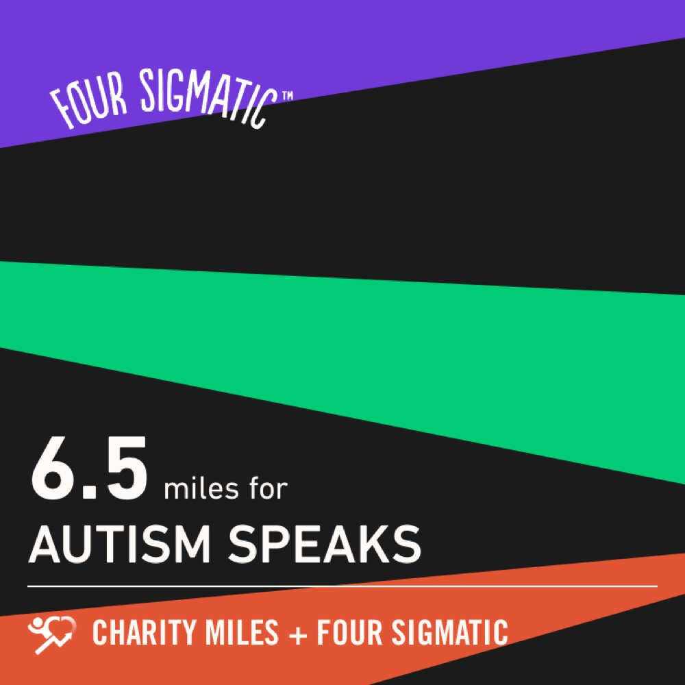 6.5 @CharityMiles for @autismspeaks. Tha...