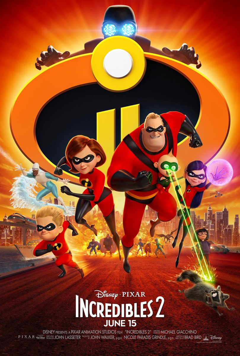 Disney Pixar Incredibles 2