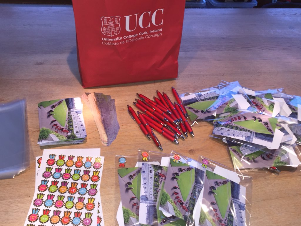 Preparing small thank you gifts for our junior guests (all 80+ of them!) who will perform with us at our concert this Friday lunchtime @UCC @UCCcreative @osheaucc @johbees @MusicUCC #communityengagement #futurestudents #collaboration #creatingmemories #fun<br>http://pic.twitter.com/PnCZfDBKiQ