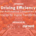 What efforts are automotive companies taking to become more energy efficient and shift their #digitaltransformation into high gear? Learn more: https://t.co/pa6GLV9aIG