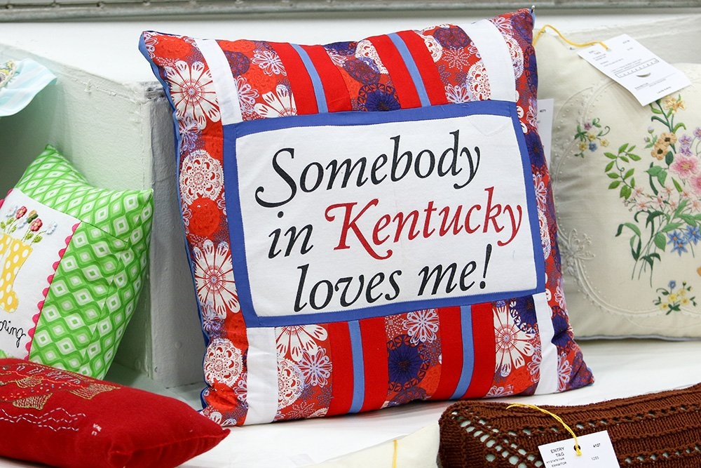 Kentucky State Fair On Twitter Get Your Crafts Recipes And Unique Fairon Decorative Throw Pillow