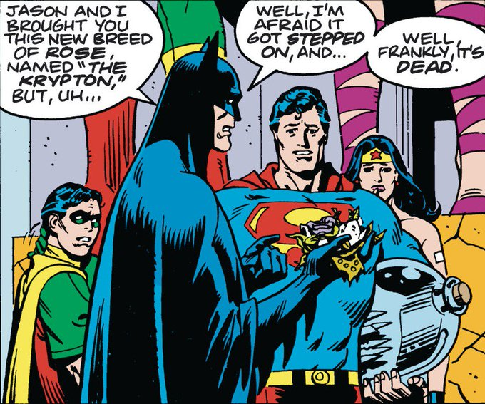 Happy Birthday, Kryptonian! Superman Annual (1985); by Alan Moore and Dave Gibbons