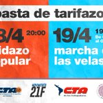 #MarchaDeLasVelas