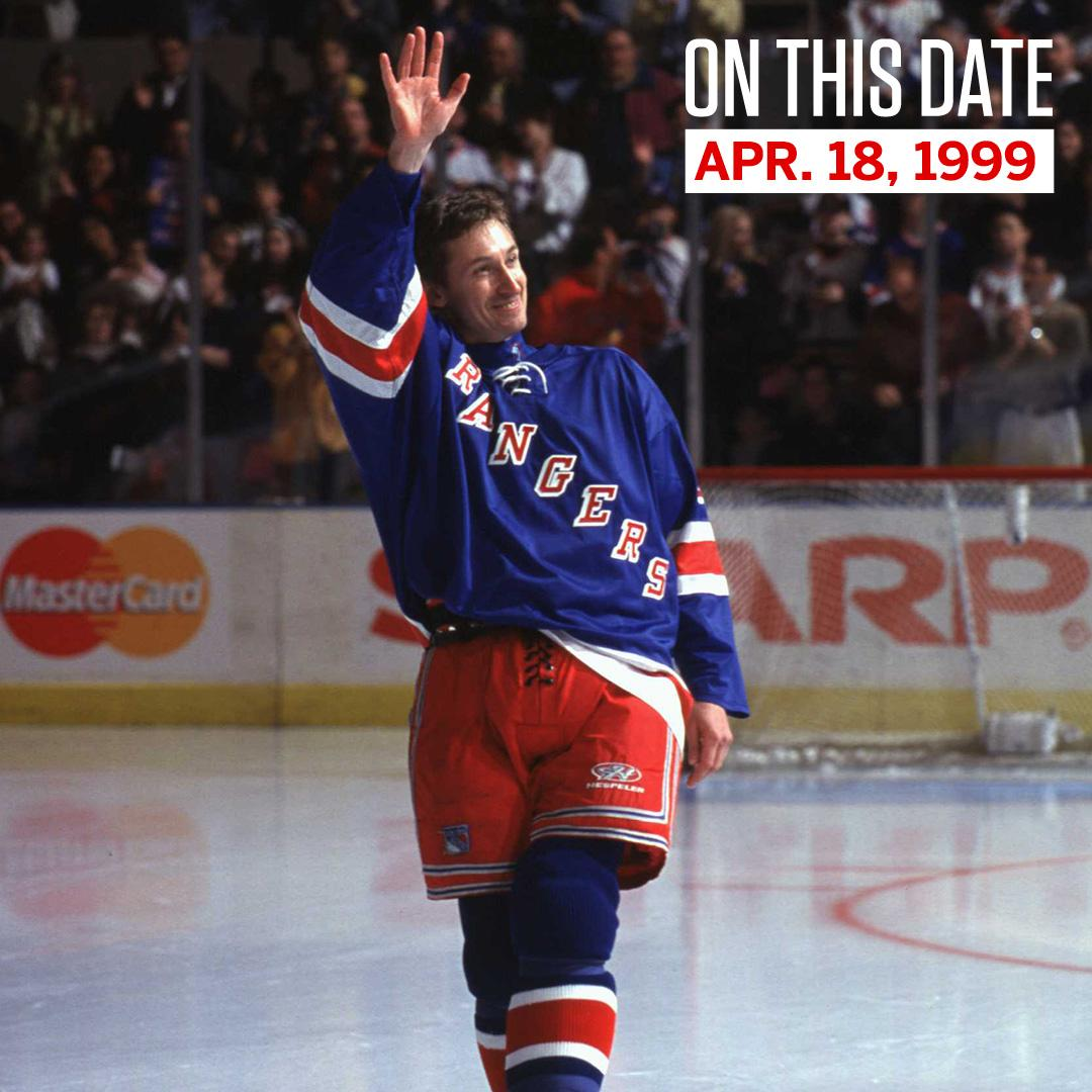 On This Date: 2,857 points and 9 Hart Trophies later, The Great One played his final game in 1999.