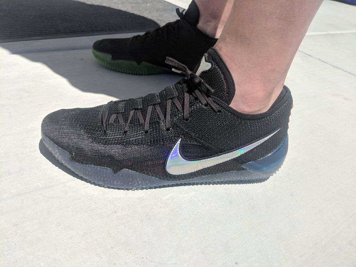 2561c129b84 ... towelliee on twitter kobe ad nxt 360 mid sole combining lunarlon and  react foam. probably