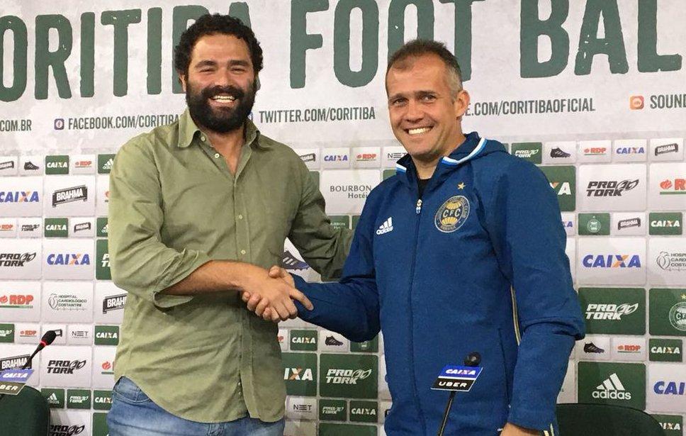 Eduardo Baptista admite que Coritiba precisa mostrar protagonismo em campo durante a Série B - https://t.co/t6HS0GB9a2