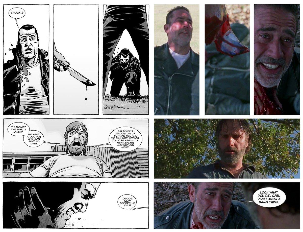 ICYMI: #TheWalkingDead went full-comics...