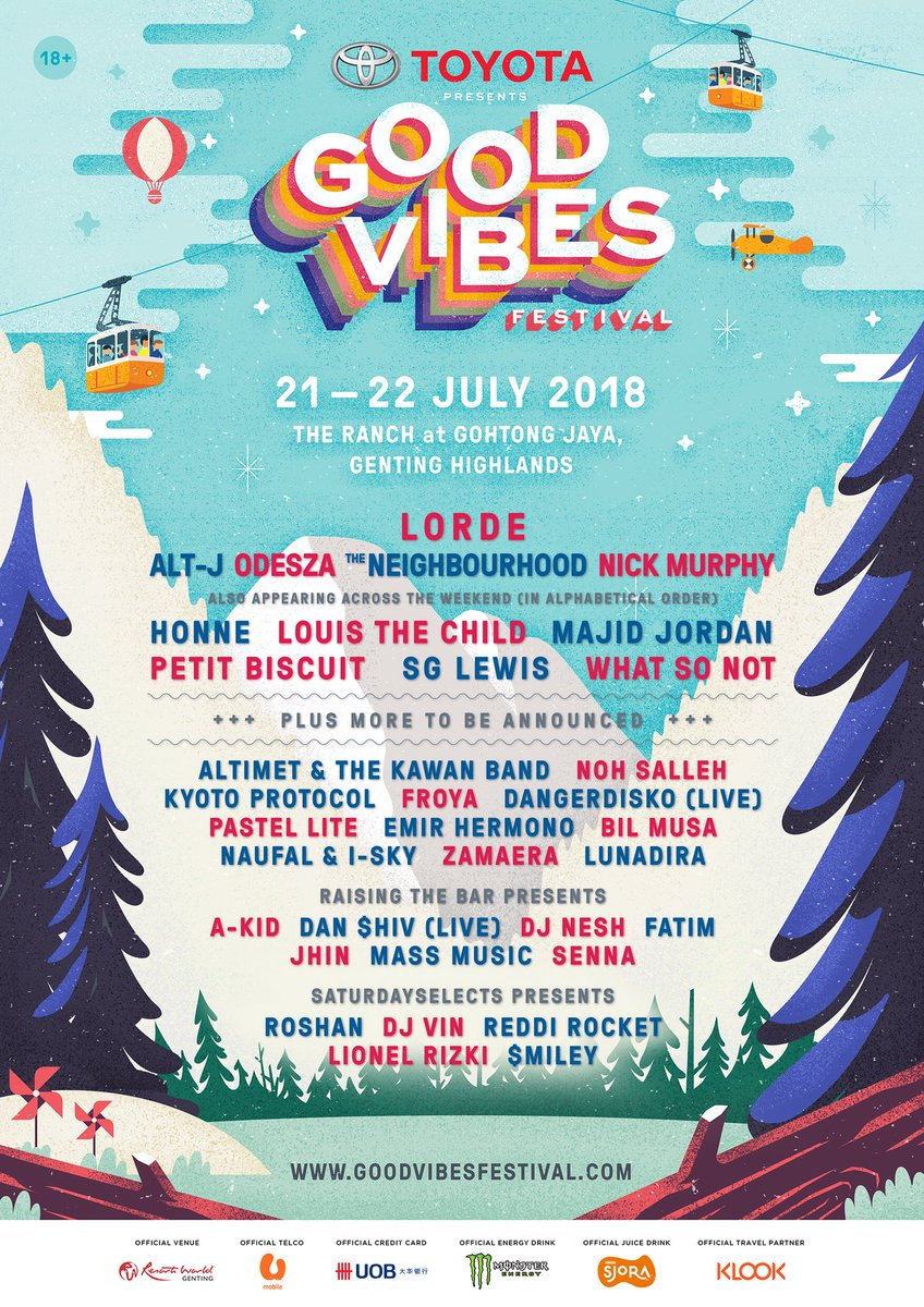 We will be playing @GoodVibesFest this y...