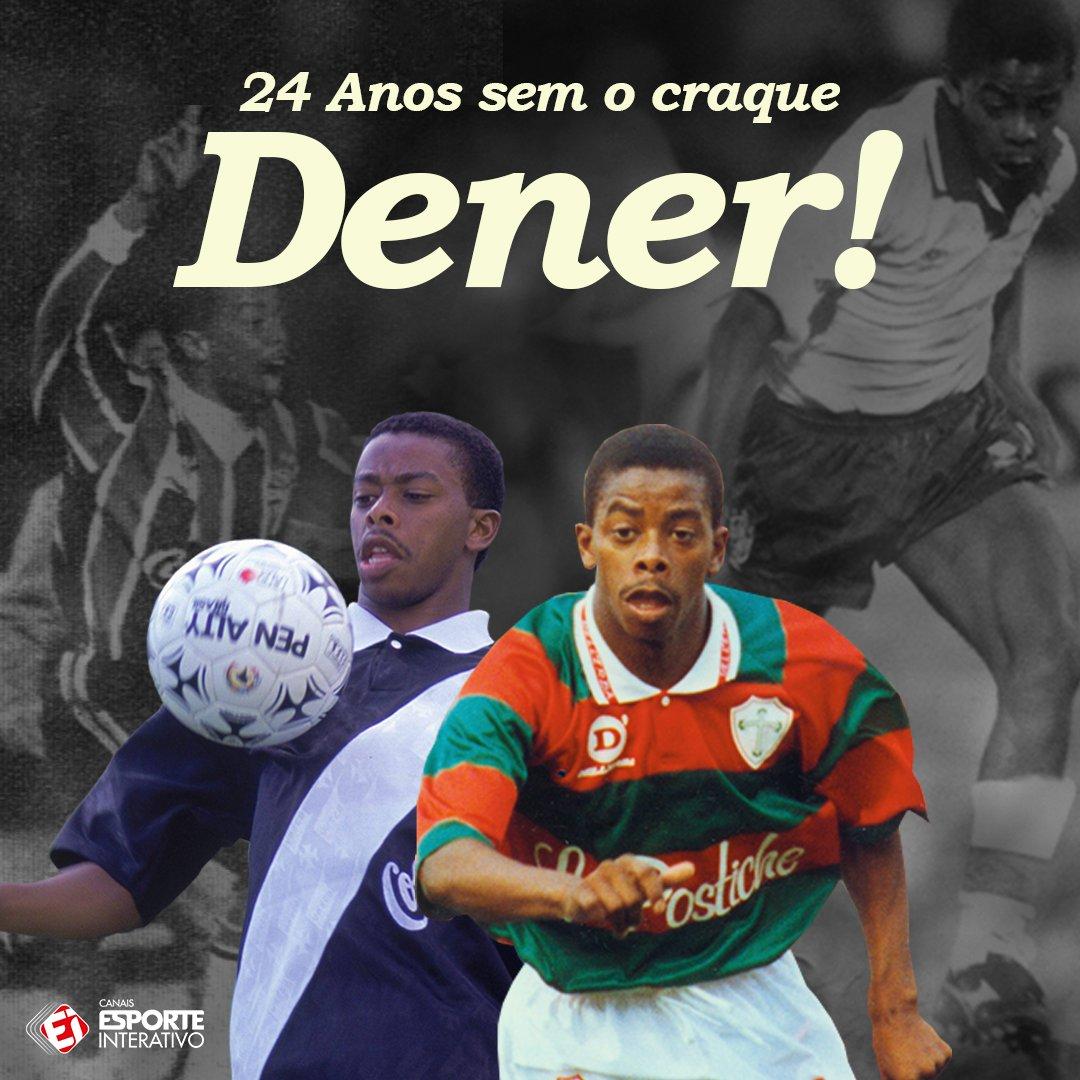 Uma grande perda para o futebol brasileiro, mas seu legado segue vivo, Dener! Obrigado!