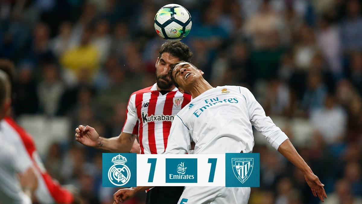 Chấm điểm: Real Madrid 1-1 Athletic Bilbao