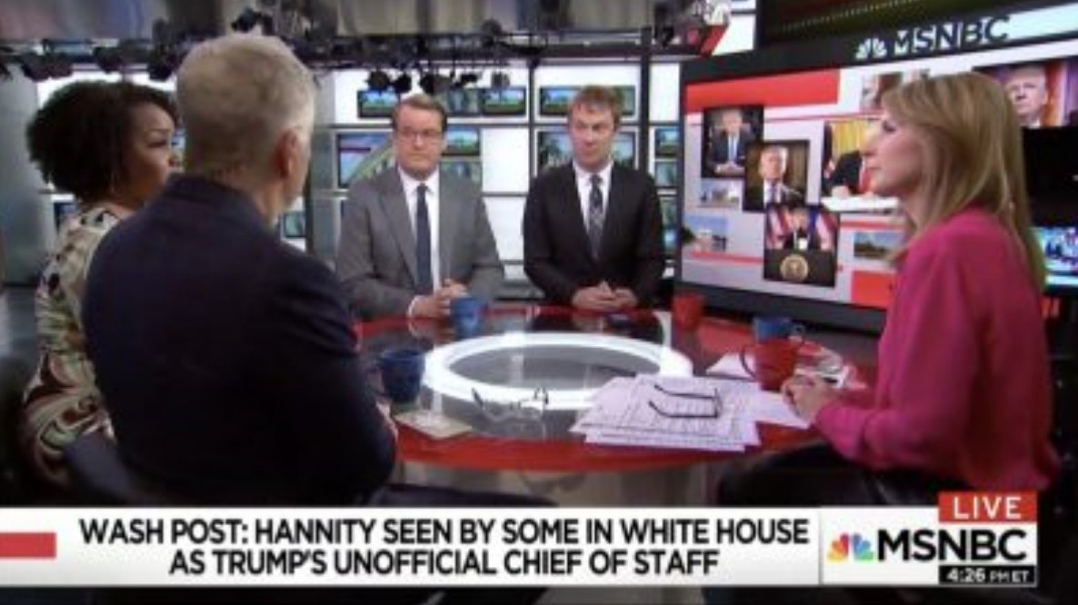 MSNBC Panel Goes Off Over Hannity Flap: 'Fox Isn't State-Run Media, The State is Run by Fox' https://t.co/iqHDjE40dj (VIDEO)