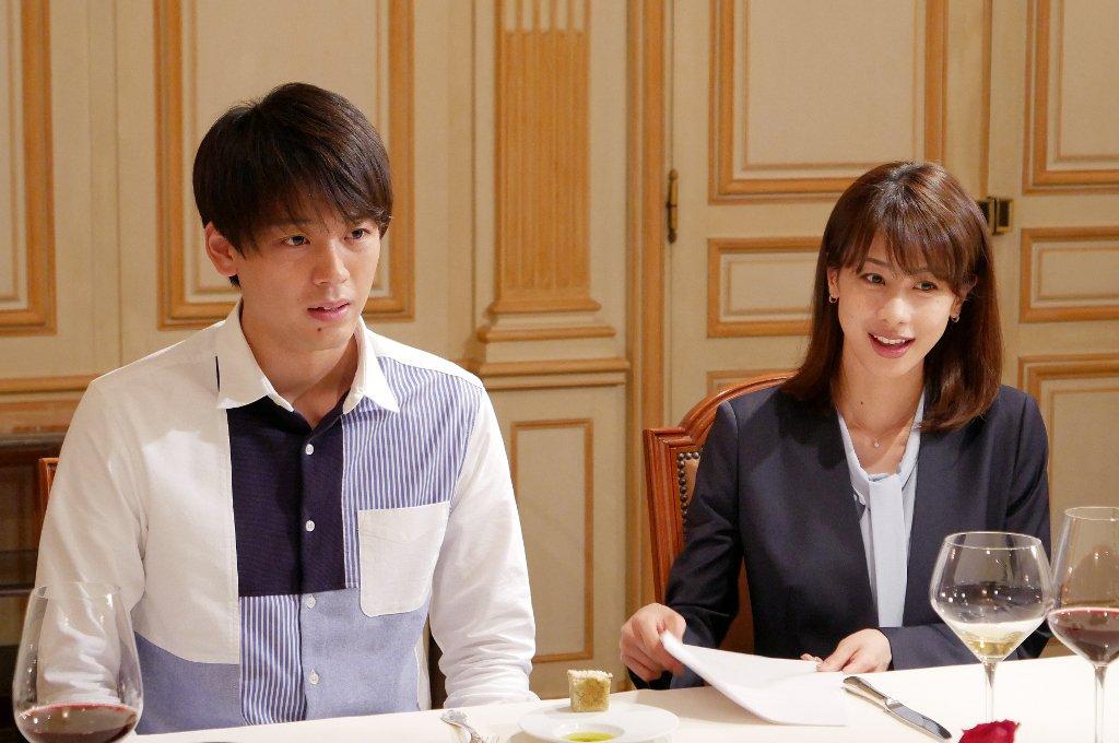 竹内涼真さんと加藤綾子さん