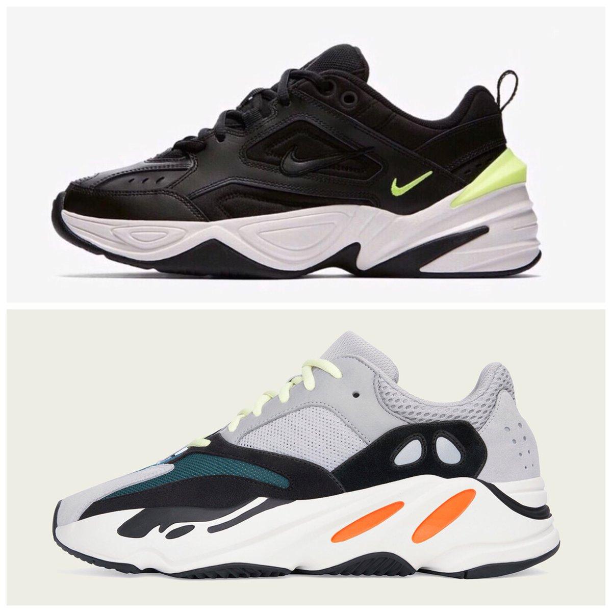 Nike M2K Techno vs Adidas Yeezy Boost