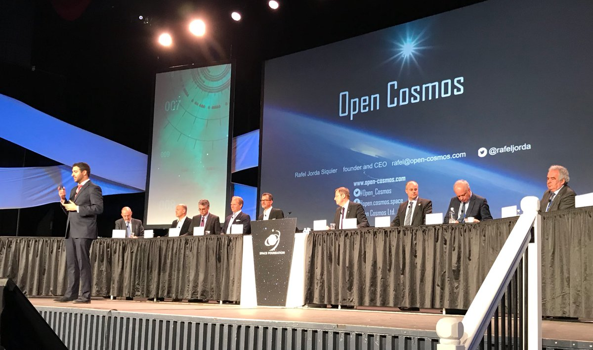 Remco Timmermans's photo on #SpaceSymposium