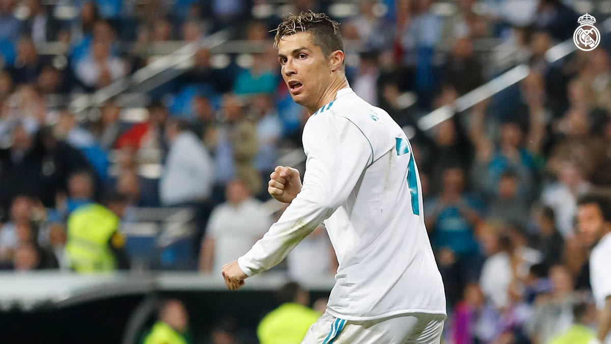 🔥 @Cristiano en los últimos 12 partidos:   🆚 @AthleticClub ⚽ 🆚 @juventusfces ⚽ 🆚 @Atleti ⚽ 🆚 @juventusfces ⚽⚽ 🆚 @GironaFC ⚽⚽⚽⚽ 🆚 @SDEibar ⚽⚽ 🆚 @PSG_espanol ⚽ 🆚 @GetafeCF ⚽⚽ 🆚 @Alaves ⚽⚽ 🆚 @RealBetis ⚽ 🆚 @PSG_espanol ⚽⚽ 🆚 @RealSociedad ⚽⚽⚽