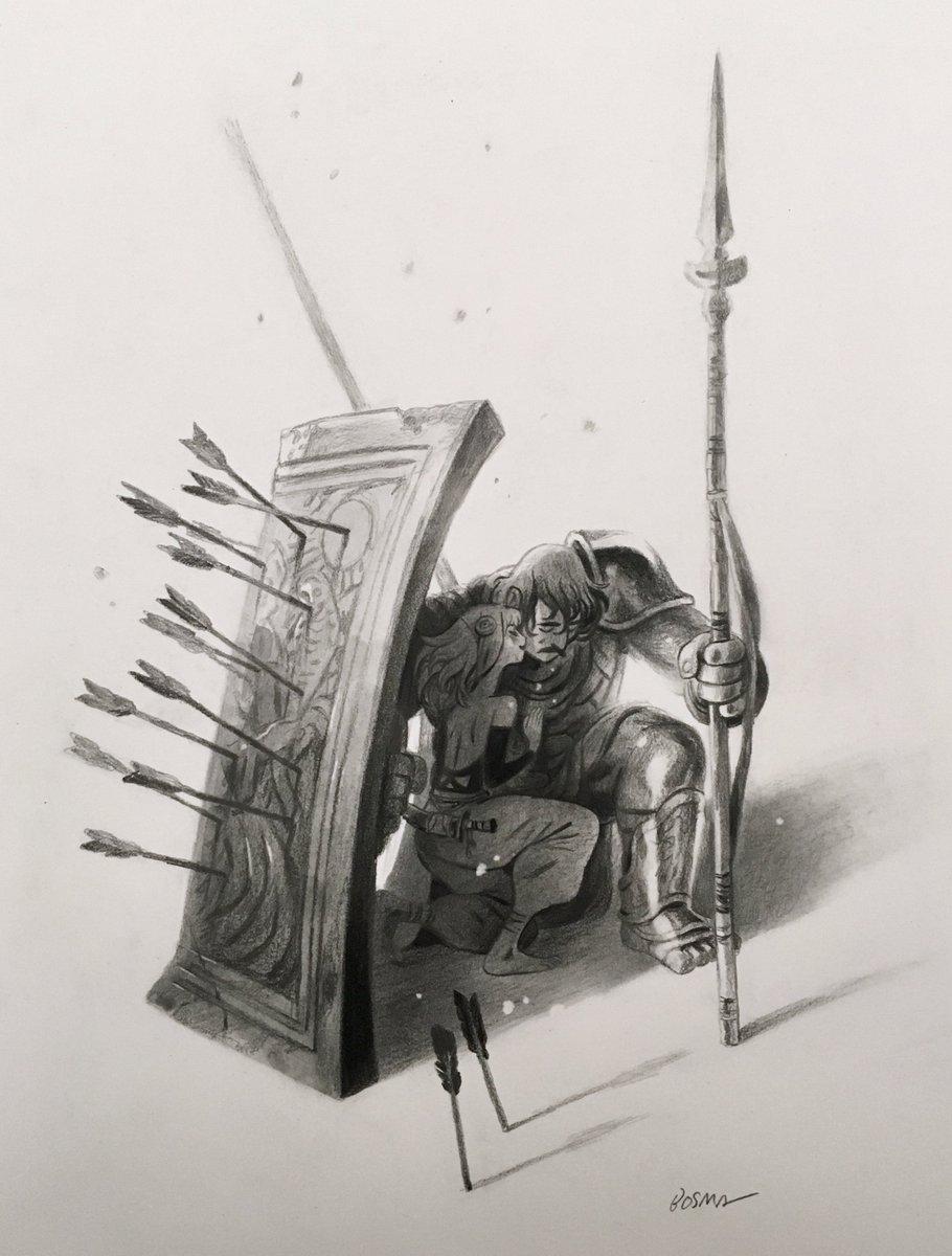 """Favor 1"" for @gallerynucleus Line Weight exhibit — 12x16"", pencil. https://t.co/83U2I3DCd3"
