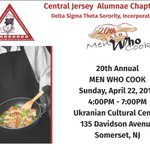Come out to support our 20th annual Men Who Cook fundraiser. April 22nd from 4pm - 7pm at the Ukrainian Cultural Center in Somerset.  Purchase tickets @ https://t.co/Ar6dwozI0B  #CJAMenWhoCook #CJADST #TheEast #DST1913