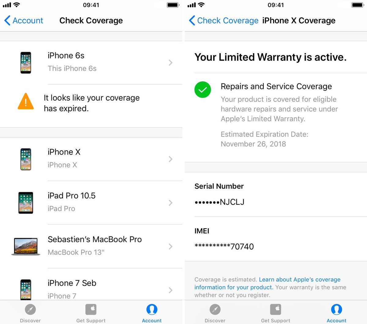 How on Apple to check warranty: recommendations