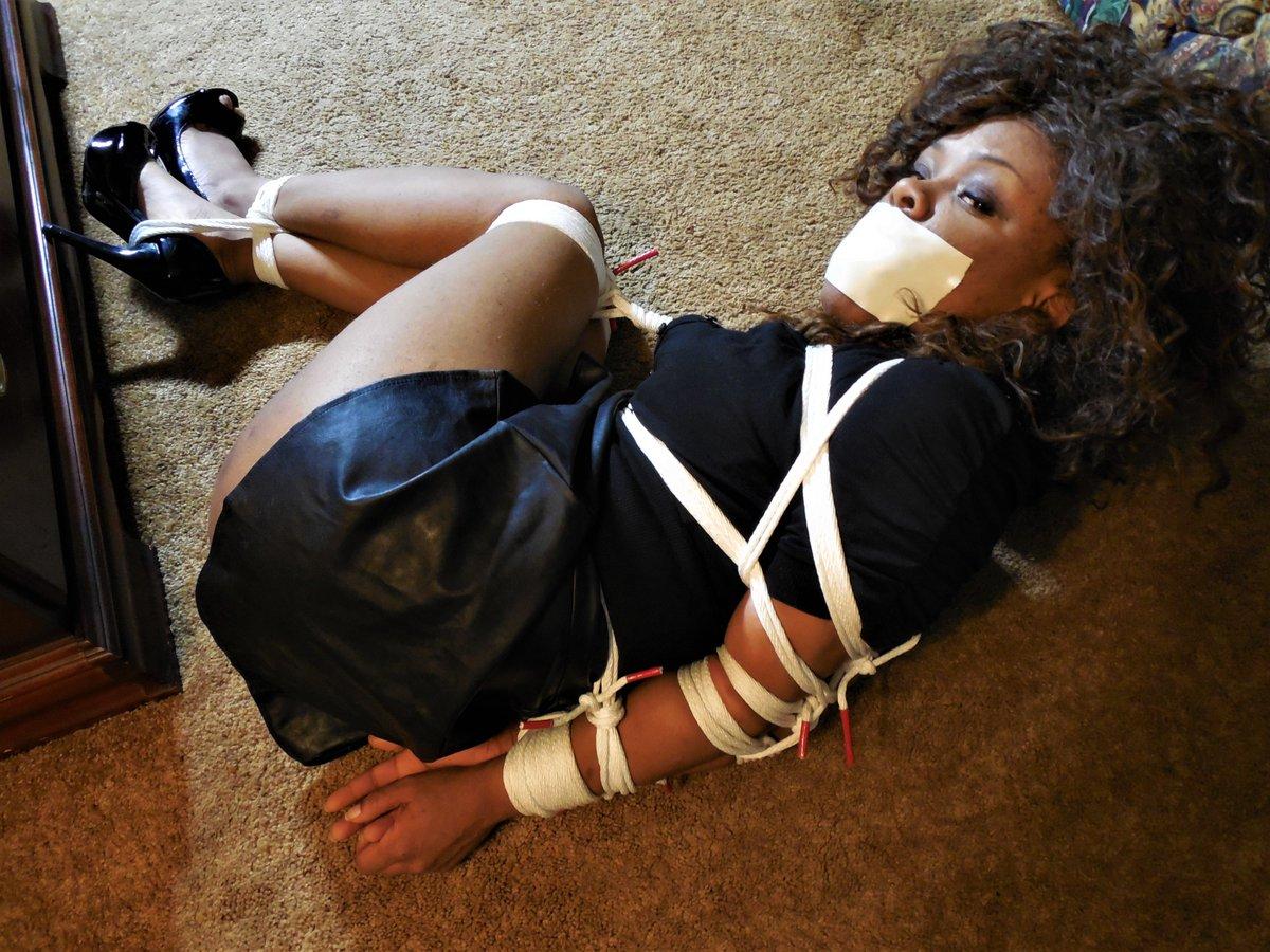 black girl bondage