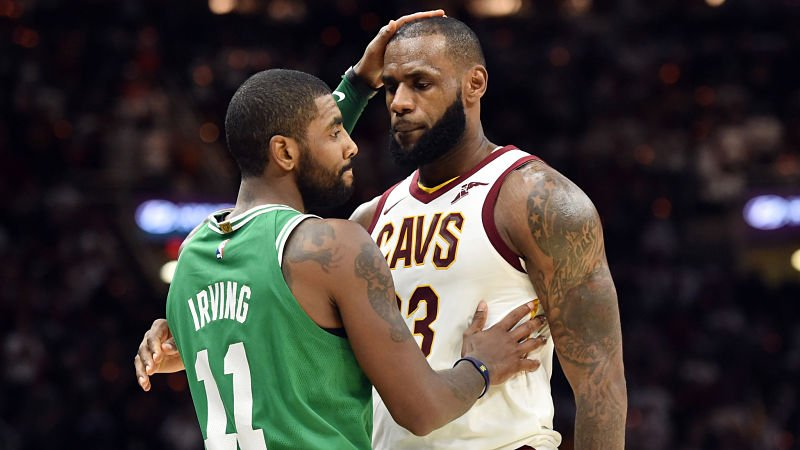 One of Kyrie Irving's former teammates sheds light on the star guard's decision to leave the Cavaliers. https://t.co/J28w300Gy2