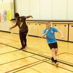 All happy #dance smiles today! Look at the Gr.5s #groove. #CFISphysed #ElemPE #JeSuisCFIS @YYCfrench @SoundKreations