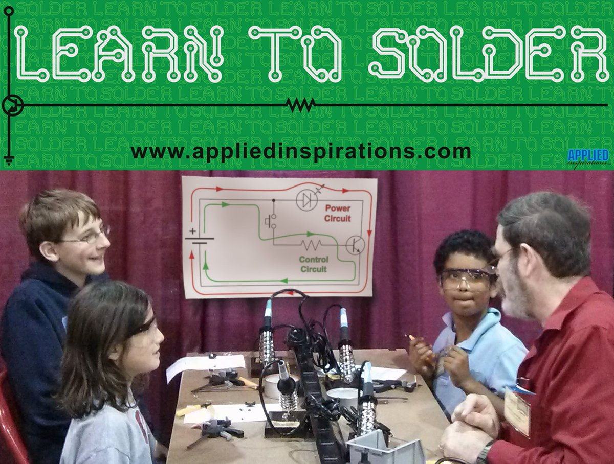 Maker Faire Westport On Twitter Want To Learn How Build Electronic Circuits A Working Electronics Circuit With Solder Ages 5 7 Parent Adults Mfwestport Makerfaire Http Owly Zyf530jyy1j Pic U0ejm3atpw