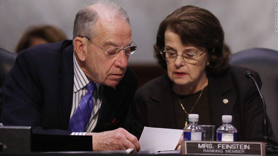 """Sen. Chuck Grassley is """"moving ahead"""" with a bill that would protect special counsel Robert Mueller despite Senate Majority Leader Mitch McConnell's opposition https://t.co/hfer3yuN9L"""