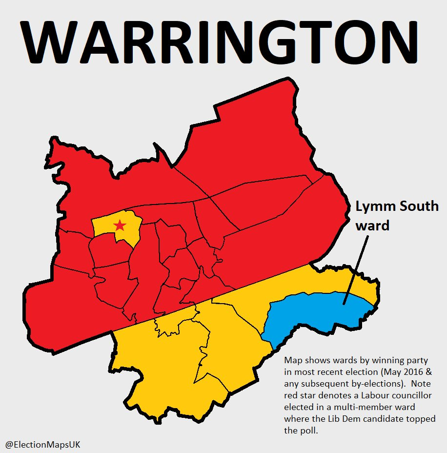 Election Maps UK on Twitter: \