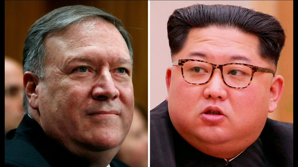 Diretor da CIA se encontra em segredo com o ditador norte-coreano Kim Jong-un. A reunião aconteceu no início de abril, mas só foi revelada agora:  https://t.co/8XIrqtfcK3