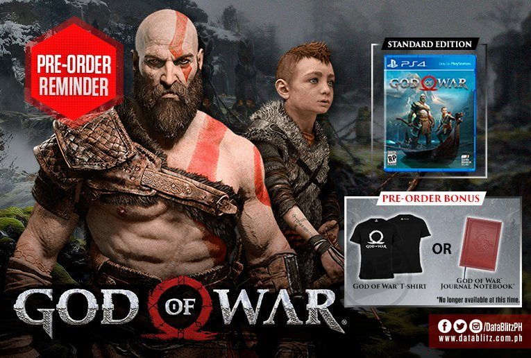 god of war ps4 standard edition