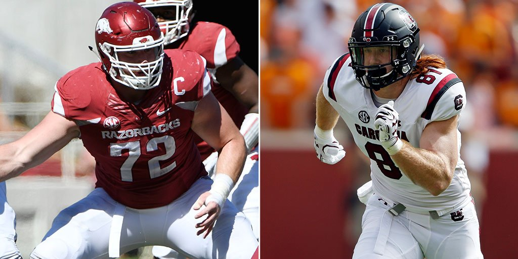 NFL draft: @TomPelissero lists four prospects who could be surprise first-rounders https://t.co/hwuldcw65j https://t.co/vjUqW062c4
