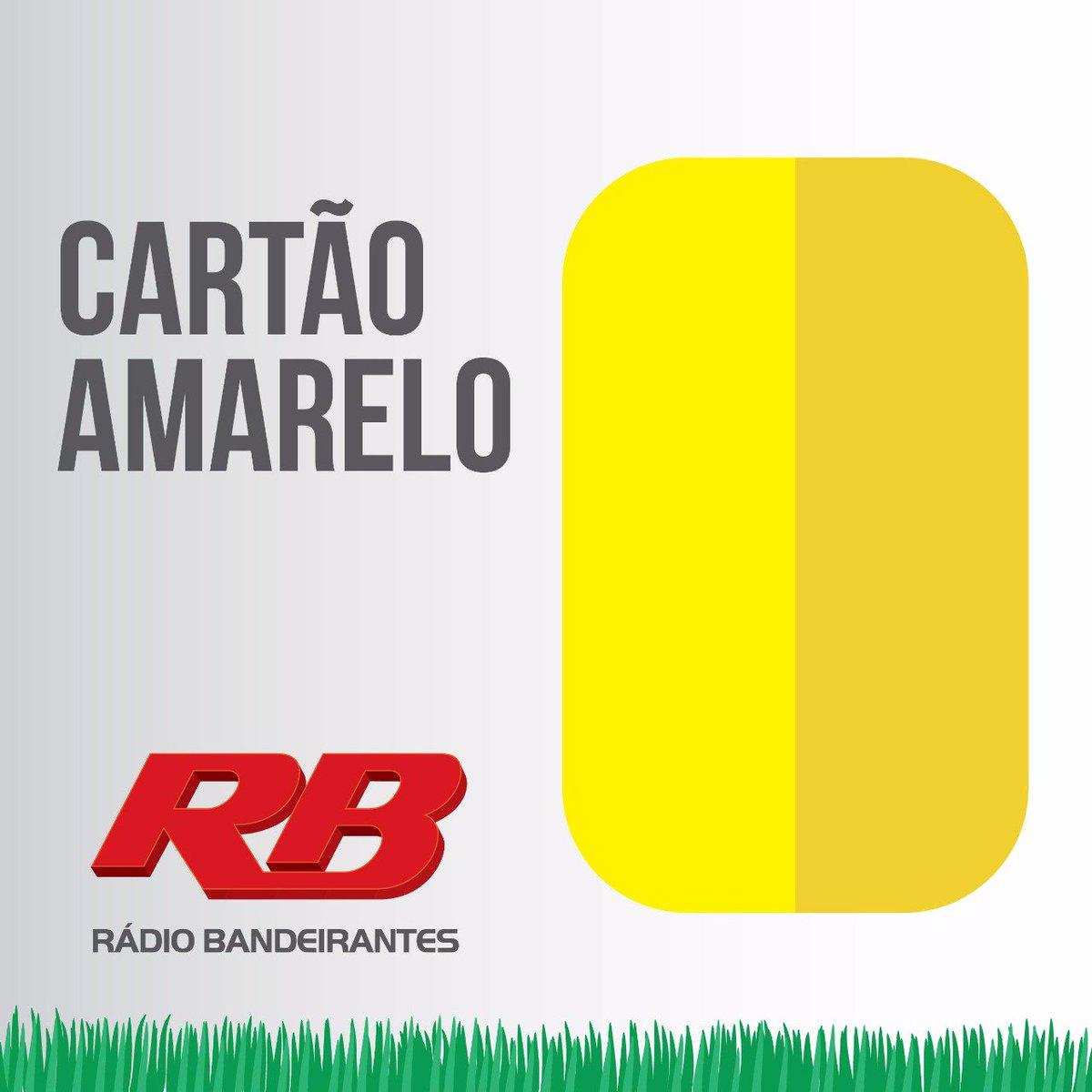 18' 2°T: Cartão amarelo para Verón  OUÇA! https://t.co/WuqII0ALYl    #FocoEmVocê