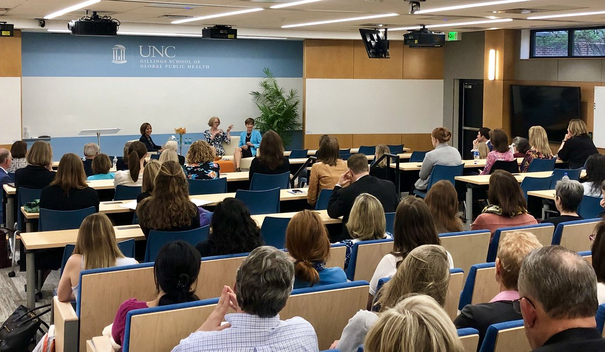 """Had a blast moderating a discussion w/ co-authors & @UNC grads Paula Brown Stafford & Lisa Grimes on their book """"Remember Who You Are: Achieve Success. Create Balance. Experience Fulfillment"""" – an inspiring reflection on professional & personal development w/ a pr…"""