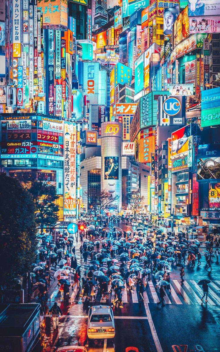 MEGA TOKYO  2049年 渋谷妄想図