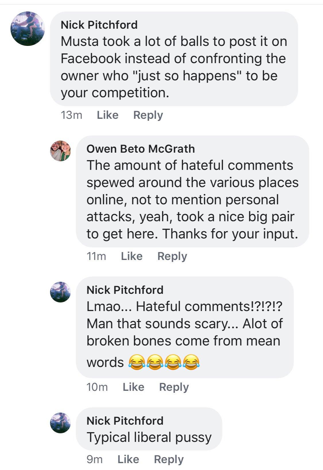 Musta Pussy Facebookissa