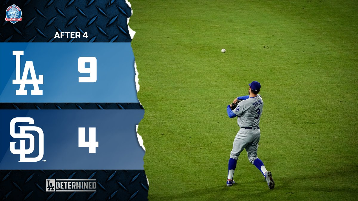 Let's go to the fifth! #Dodgers https://t.co/GYmEZ3ohEd