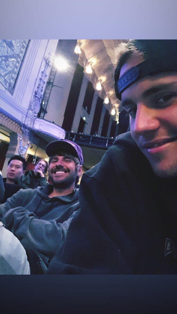 A carinha! Justin via instagram Stories....