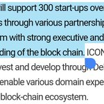 "In cooperation with AD4th, $ICX has established Deblock.  https://t.co/V2DC6Efnhs is an incubator aiming to support over 300 projects in the next 3 years.  Recall @helloiconworld's theloop recently signed an MOU with AD4th to ""support digital marketing for blockchain business""."