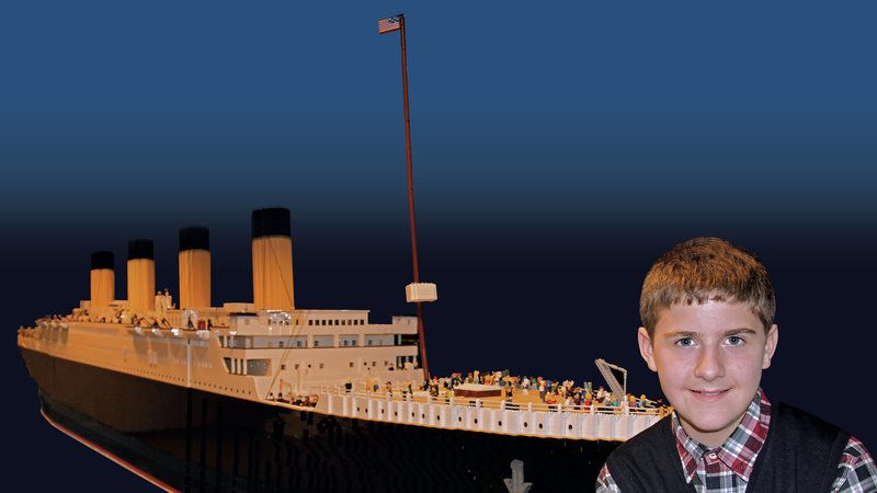 NPR: Builder of World's Largest Titanic Replica in Lego Says His Autism is a Gift #maritime #LEGO  https:// buff.ly/2vtW6Zi  &nbsp;  <br>http://pic.twitter.com/5rX1dIovjy