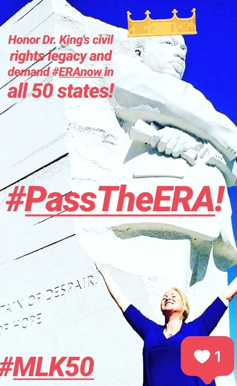 #HaventYouHeardOf the #EqualRightsAmendment?  It&#39;s the biggest #CivilRights issue in America, yet not enough lawmakers are voting #ERAyes to #PassTheERA, which will guarantee #WomensRights in the US Constitution.  Demand #ERAnow to #RatifyERA in all 50 states!  #WeCanDoIt #MeToo <br>http://pic.twitter.com/ymRERPr6W9