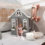 """97 Likes, 5 Comments - L A U R A ? (@laurahopa) on Instagram: """"Throwback to the weekend and our baby girls first birthday party ??? #partyspam #willowisone • • •…"""" This fantastic party idea was featured today on https://t.co/2n0L40LUCS! #partyideas #party #birthdayparty #h…"""
