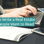 How To Write A Real Estate Blog People Want To Read?  | via @massrealty  #realestate #realtor https://t.co/wybZT1ue42
