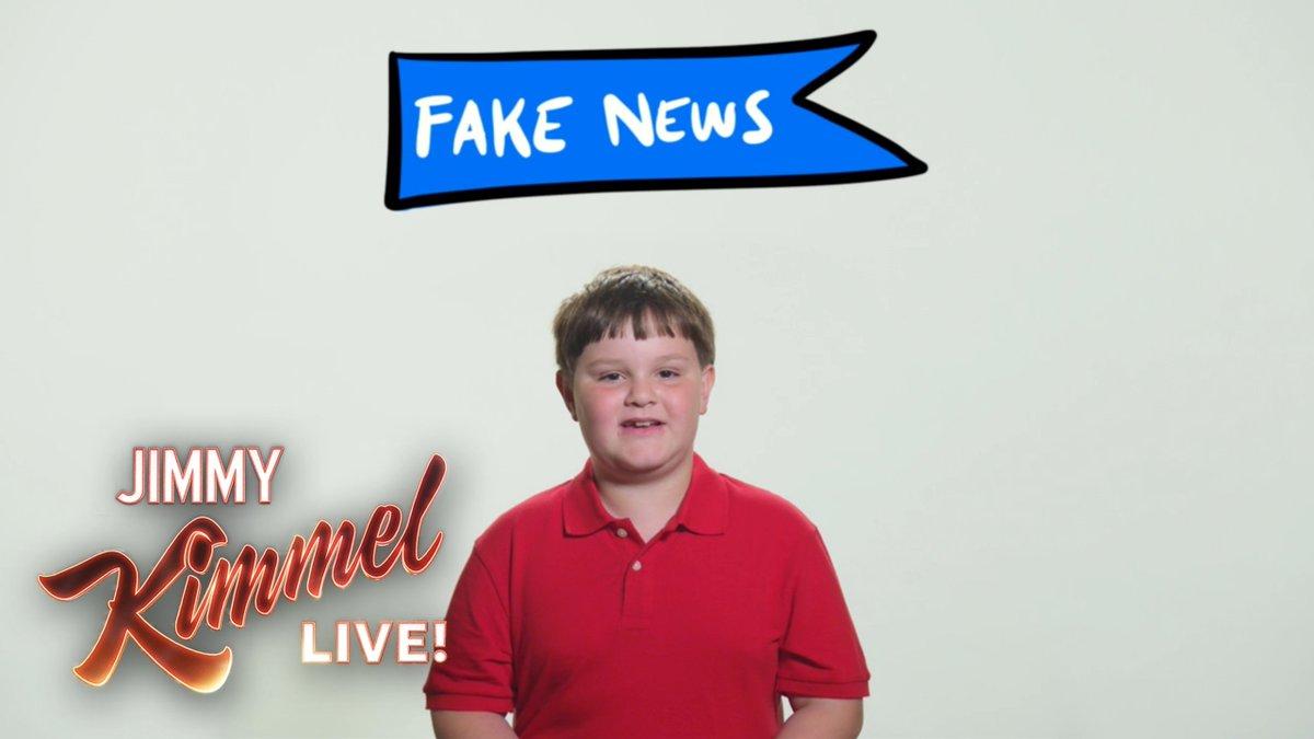 A 3rd grader explains #FakeNews to @RealDonaldTrump…