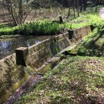 As the #Dambusters75 anniversary nears, the original test dam at BRE looks great in today's sunshine https://t.co/s64Q3DrPFG