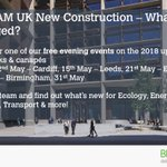 We're excited to announce the dates for the #BREEAM 2018 Roadshow! Come along to one of our free events for networking & an insight to the new UK New Construction 2018 scheme! Book now- We look forward to seeing you there! #BREEAM2018  https://t.co/AFLfHSWm0i