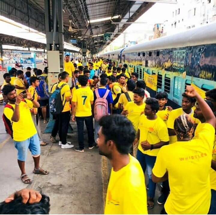 @ChennaiIPL We are on the way😍😍😍😍😍