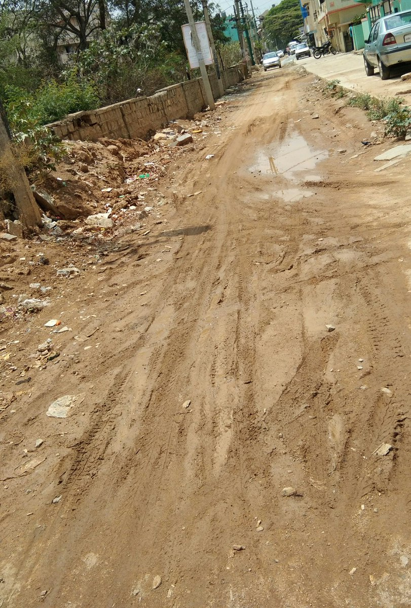 @BBMP_MAYOR @bbmpcommr authorities inspite of repeated requests made by residents. #GM Palya Main road Ward #58 remains same.With this condition residents are frustrated.Even #MLA Shri.Raghu doesnot want to intervene in giving better roads to residents?@mla_raghu .@VoicOfNewIndia<br>http://pic.twitter.com/kD1VEMTu63