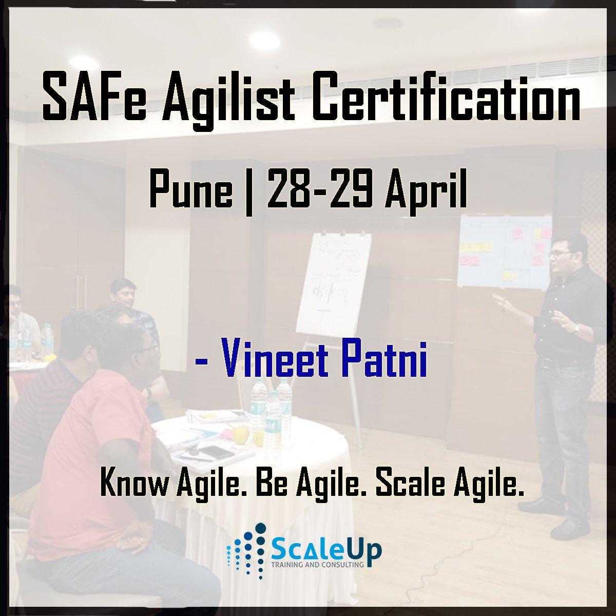Scaleup Consultants On Twitter Safe Agilist Certification